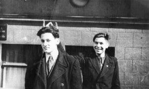 Вадим Межуев, конец 1940-х, последний курс ремесленного училища