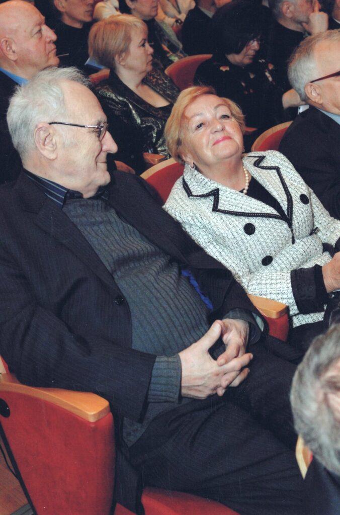2011, Санкт-Петербург, с С.Г. Иконниковой