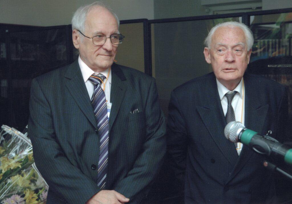 2011, Вадим Межуев, с Ю.А. Рыжовым